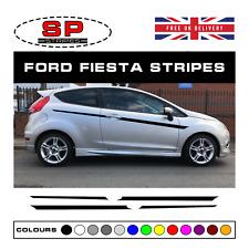 Ford Fiesta MK7 Side Stripe Graphics Decal Stickers Set Sports ST Zetec