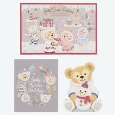 Tokyo Disney Sea Duffy Christmas 2019 Winter holiday Duffy Post Card Set TDS New