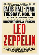 More details for reproduction led zeppelin concert poster,