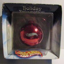 "2002 HOT WHEELS Holiday Decoration 3.5"" Ornament MIB C-4.0 Purple Radio Flyer"