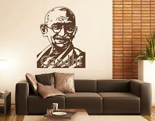Gandhi  - highest quality wall decal stickers