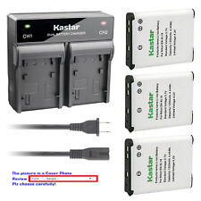 Kastar Battery Rapid Charger for Nikon EN-EL19 & Nikon Coolpix A100 Coolpix A300