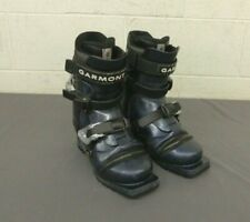 Garmont Veloce 3-Pin 75mm Nordic Norm Telemark Ski Boots MDP 24 US 6/7 EXCELLENT