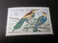 FRANCE 1960, timbre 1276, OISEAUX GUEPIERS, VFMNH STAMP, BIRDS