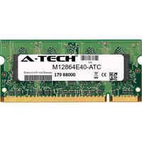 1GB DDR2 PC2-4200 533MHz SODIMM (Kingston M12864E40 Equivalent) Memory RAM