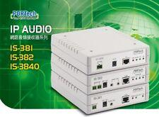 PORTech IS-3840 IP Audio Gateway build in amplifier Net Audio Decoder