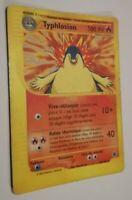 Carte Pokemon TYPHLOSION 64/165 Rare Expédition Wizard Française