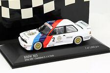 BMW M3 (E30) #2 DTM Champion 1987 Eric van de Poele 1:43 Minichamps