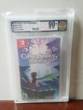 Cave Story+ w/keychain - VGA 90+ Gold - Nintendo Switch, mint 1st print!