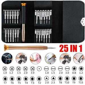25 in1 Precision Screwdriver Set Computer Repair Torx Tool Kit Laptop Smartphone
