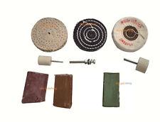 "Metal Polishing Kit for Aluminium, Brass, Steel , 3""  wheel"