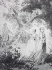 GRAVURE FRAGONARD 1840 / NICAISE