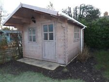 OSLO LOG CABIN - 3m x 4m - 34mm - Summer House, Garden Building, Home Office