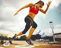 Lolo Jones Signed 8X10 Photo Autographed  COA PSA/DNA  USA Olympics Hurdles