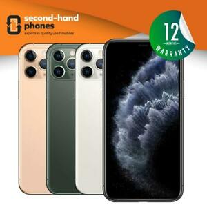 Apple iPhone 11 Pro (2019) 64/256/512GB Unlocked Grey/Gold/Silver/Midnight Green