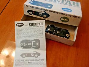 Slot car COX Cheetah Bill Thomas authorized 1:32 custom racer original box