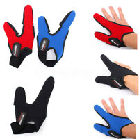 Two Fish Fishing Finger Gloves Single Finger Stall Protector Casting Adjustable