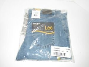 NEW Lee Regular Fit Straight Leg Adjustable Waist Jeans Boys Youth 14H 14 Husky