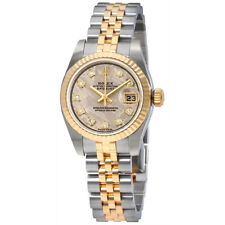 Rolex Lady Datejust 26 Meteorite Dial Stainless Steel and 18K Yellow Gold