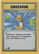Rafale de Vent / Gust of Wind 93/102 FRENCH 1ST EDITION COMMON BASE Pokemon EX
