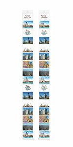 2 Fototaschen 10x15 cm je 16 Fotos Querformat Fotovorhang Fotogalerie Fotoalbum