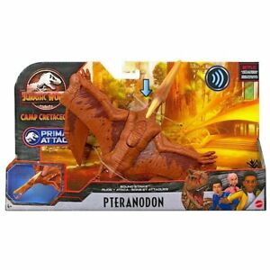 "Jurassic World Pteranodon Sound Strike Figure Camp Cretaceous Netflix 16"" Span"
