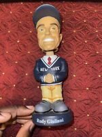 "BOSLEY BOBBERS Rudy Giuliani Mayor of New York Bobble Head 7"" Collectible"