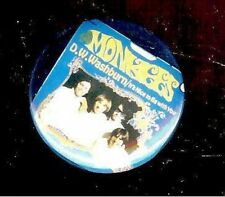 the MONKEES promotional pin D.W. WASHBURN pinback