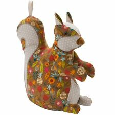 Ulster Weavers Cotton Squirrel Shaped Door Stop - 8SQR35