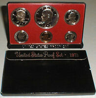 1973 S United States Mint Annual 6 Coin Proof Set Original Box