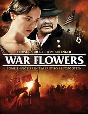 War Flowers Christina Ricci Tom Berenger Jason Gedrick  (DVD, 2013) WS Civil War