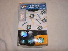 Basketball New Orleans Hornets 3pc Unisex Baby Gift Set NBA