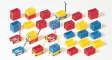 Preiser 17113 Boîtes à Pile PLASTIQUE Kit de Montage, H0
