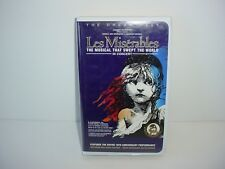 Les Miserables - In Concert VHS Video Movie