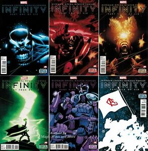 INFINITY 2013 #1-6 COMPLETE SET LOT FULL RUN HICKMAN THE AVENGERS THANOS MARVEL