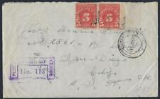 US WWII 1941 MILITARY CAF FREE FRANK COVER W/ 10¢ POSTAGE DUE APPLIED IN SANDIES