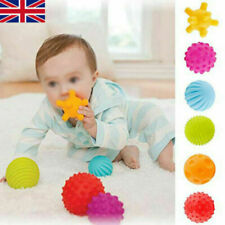 6 Pcs Baby Soft Massage Sensory Development Educational Puzzle Ball Sound Toys