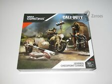Call of Duty COD Mega Construx Set #FMG16 Legends: Checkpoint Charge WWII NIB