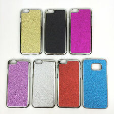Hard Shiny Sparkly Glitter Chrome Metal Christmas Case Cover For iPhone Samsung