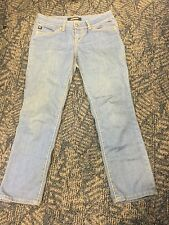 Serfontaine Jeans sz 26 - Light Blue / Yellow Stitching