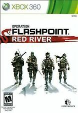 BRAND NEW Sealed Operation Flashpoint: Red River (Microsoft Xbox 360, 2011)