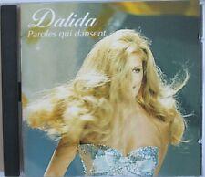 """DALIDA - CD """"PAROLES QUI DANSENT"""" - VERSIONS """"MAXI"""""""