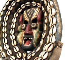 Art Africain - Ancien & Authentique Petit Masque de Chanteur Guéré - 29,5 Cms