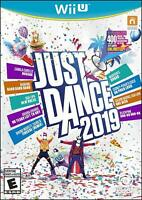 Just Dance 2019 (Nintendo Wii U) Brand New Factory Sealed FREE FAST SHIP
