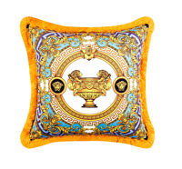 Luxury Medusa Baroque Print Decorative Fall Throw Pillows Velvet Cushion Covers