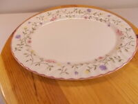 "New Old Stock Johnson Brothers SUMMER CHINTZ Serving Platter 12"" x 9"""