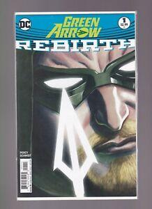 DC Rebirth; Green Arrow #1 -  2016  DC COMICS,