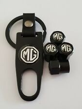 MG Plastic Valve DUST CAPS Keyring Keychain Spanner all Models Black GS ZS MG3