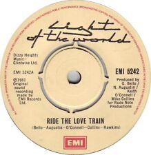 "Light Of The World – Ride The Love Train  7"" Vinyl Single"