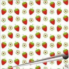 Strawberry Fields Chocolate Transfer Sheet